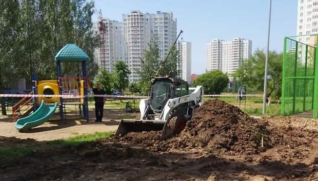 Члены правительства Подмосковья проконтролировали благоустройство в округах