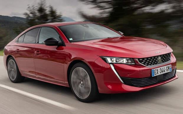 Peugeot привезет седан 508 в Россию. Известны все версии