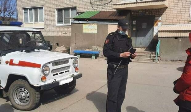 В Тюмени на Холодильной задержали пьяного мужчину