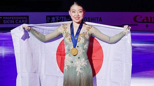 Японская фигуристка хочет оставить Россию без золота
