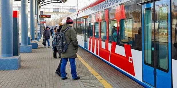 В Рождество пассажирам на МЦД помогут дежурные сотрудники метро