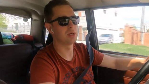 Экстремал-путешественник  на «копейке» сделал остановку в Новосибирске