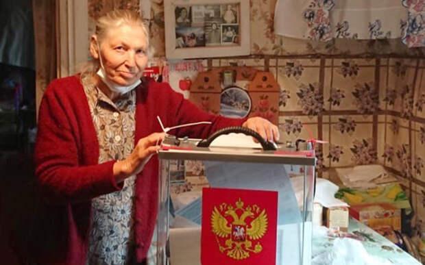 В шацкой деревне проголосовала единственная жительница
