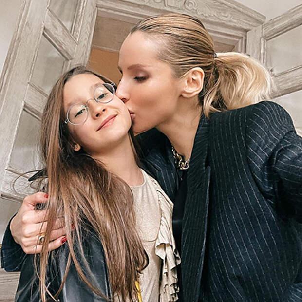 Светлана Лобода с дочерью Евой