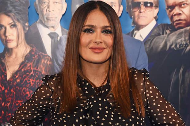 Сальма Хайек посетила премьеру своего нового фильма в Лондоне
