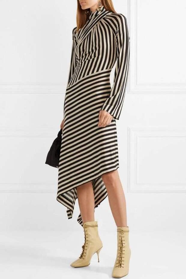 платья в полоску