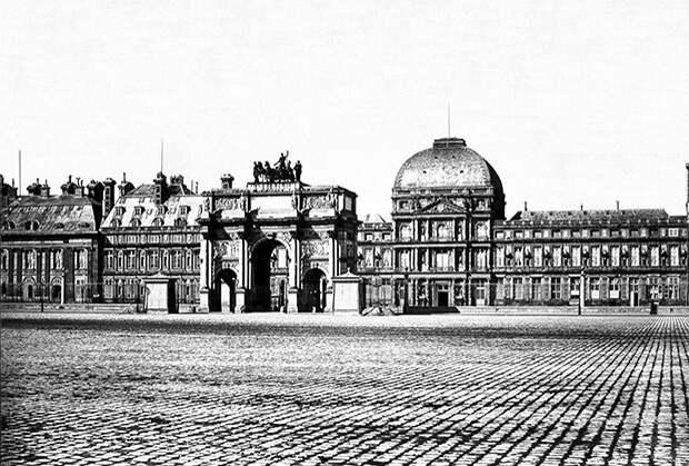 Дворец Тюильри в 1856 году