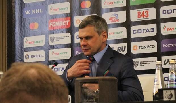 Главный тренер «АкБарса» взял вину запоражение от«Авангарда»