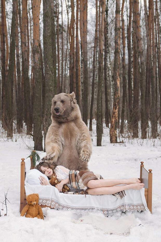 Фотограф Ольга Баранцева. Фотосессии с дикими животными и творческие портреты 4