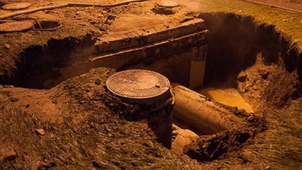 Минимум 10 человек погибли при аварии в коллекторе под Таганрогом