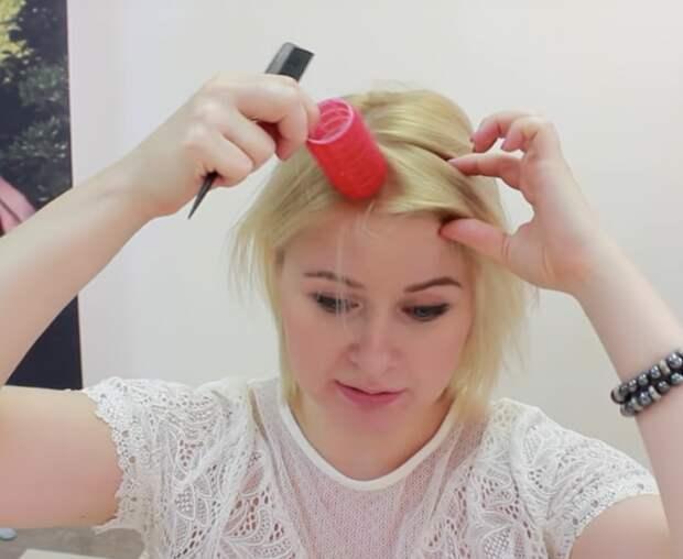 Простая укладка, которая подарит объем тонким волосам