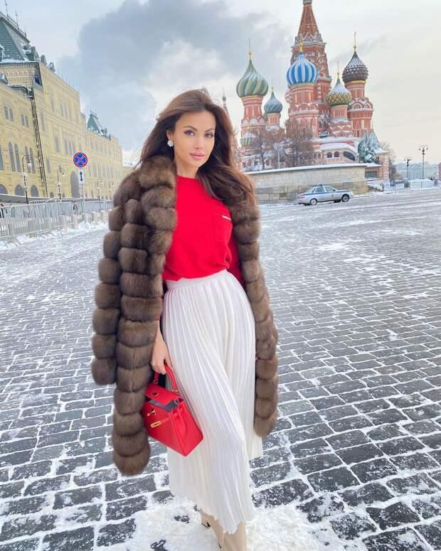 Модный журнал: Образы красивых девушек