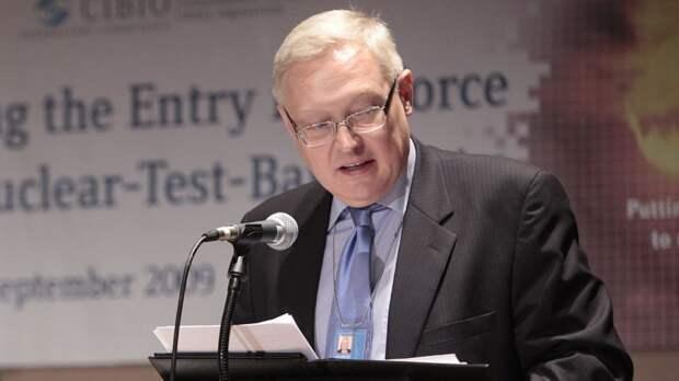Дипломат Рябков допустил отмену ограничений против загранучреждений США