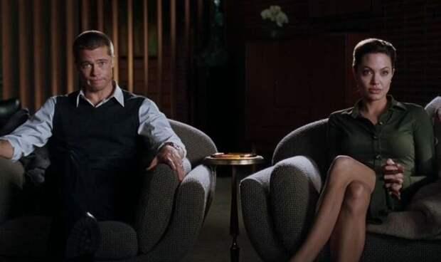 Развод Джоли и Питта обернулся новым скандалом