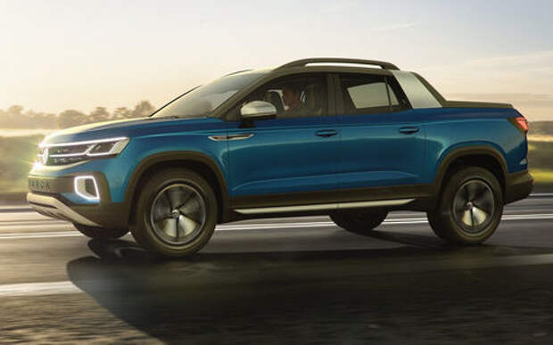 Volkswagen рассекретил новый пикап