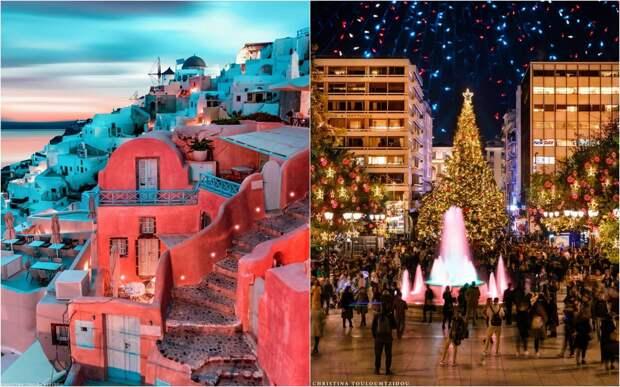 Живописные греческие улицы на снимках Кристины Тулумтзиду