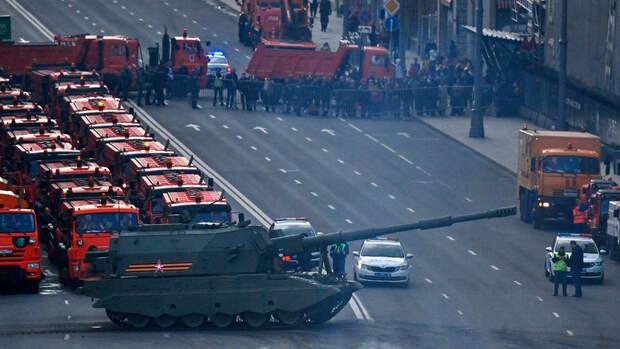 Движение на дорогах Москвы 9 мая будет ограничено