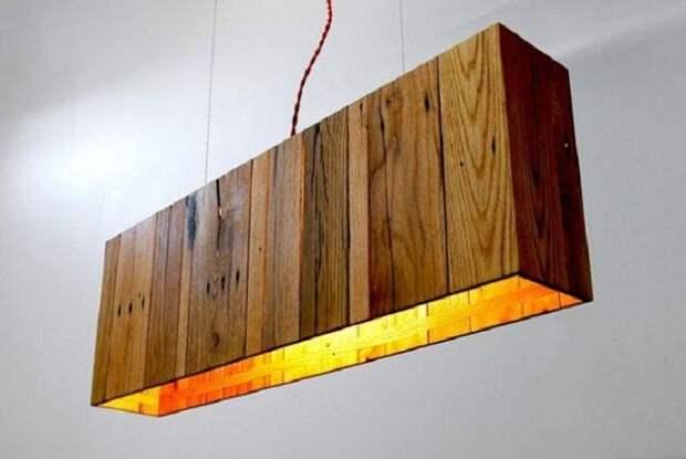 Крутое решение создать супер крутую атмосферу в комнате с помощью такой лампы.