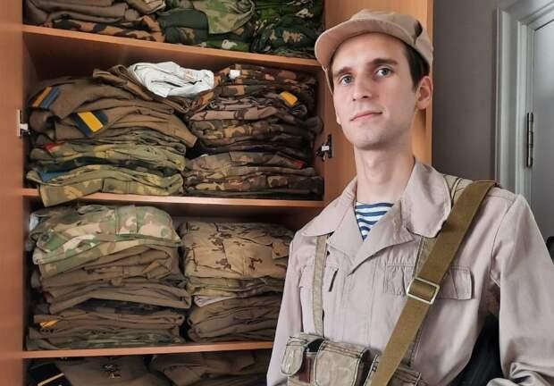 Фотоконкурс газеты: житель Алексеевского создает музей военной амуниции