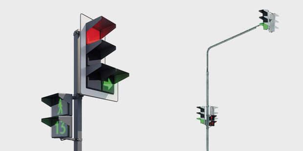 Геометрия безопасности: на российских дорогах могут появиться квадратные светофоры