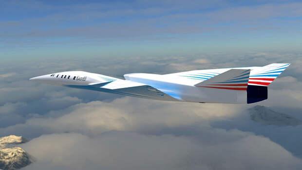 Модель высокотехнологичного демонстратора сверхзвукового пассажирского самолета впервые покажут на МАКС-2021