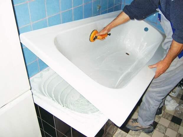 3 способа реставрации ванны.