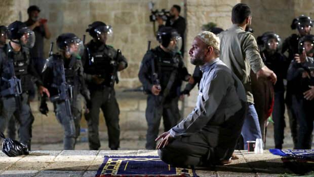 В Восточном Иерусалиме вновь начались беспорядки
