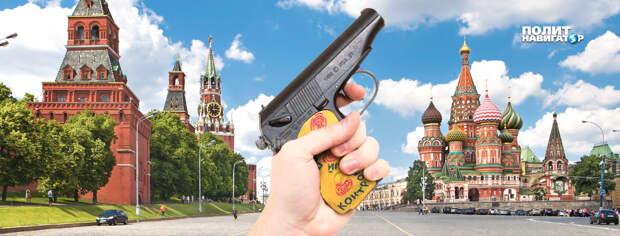 Либеральный скандалист устроил фейковое самоубийство на Красной площади