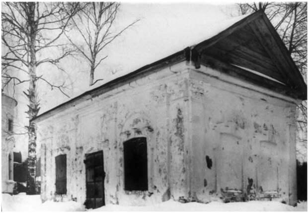 Усыпальница Брюсов возле церкви Иоанна Богослова в усадьбе Глинки, Монино, история