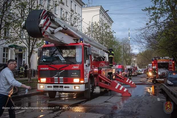 Пять кадетов из Ижевска попали в больницу в результате пожара в гостинице «Вечный зов» в Москве