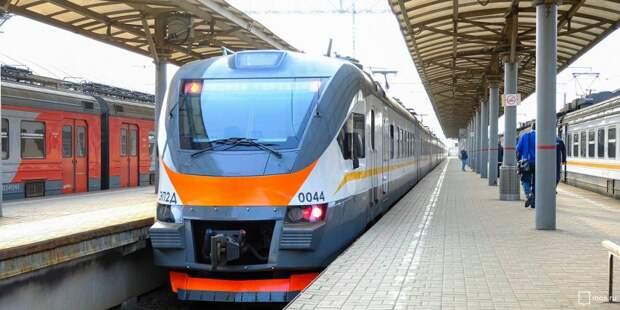 Расписание поездов от «Стрешнево» изменится на пару дней из-за путевых работ