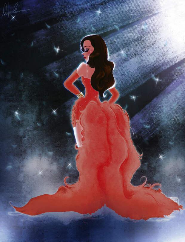 Николь Кидман опубликовала фан-арты, приуроченные к 20-летию фильма «Мулен Руж!»