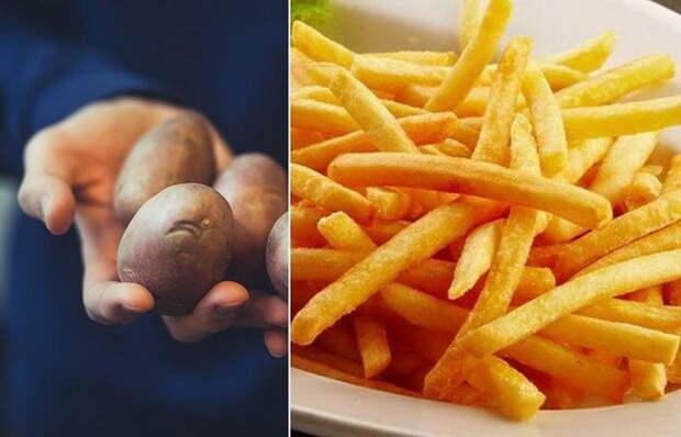 Как дома приготовить картошку фри, как в McDonald`s.