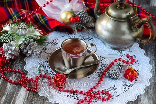 Фото горячего шоколада из какао-порошка