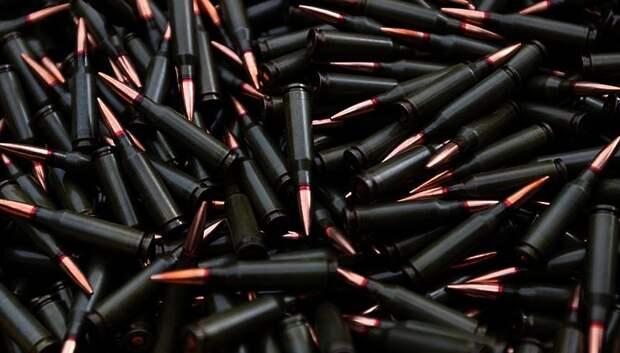 У жителя Подольска изъяли 20 патронов различной маркировки