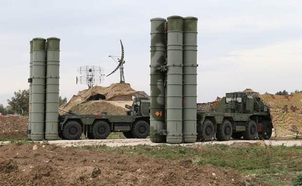 Российские комплексы ПРО С-400 на военной базе в Хмеймиме. Источник изображения: