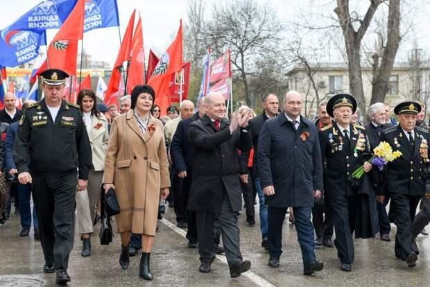 Балаклава отмечает 77-ю годовщину освобождения от войск нацистской Германии