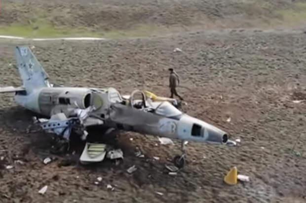 """Уничтожение беспилотником """"Орион"""" самолета L-39 показали на видео"""