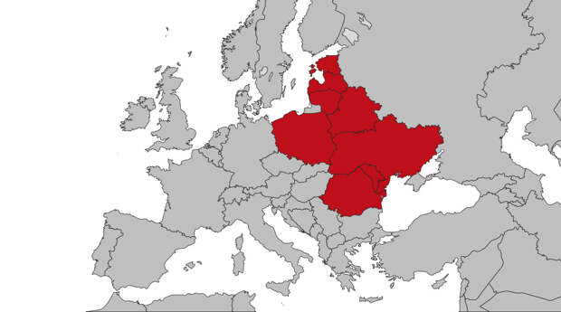 Польша Украина и Белоруссия образуют «Межморье»?