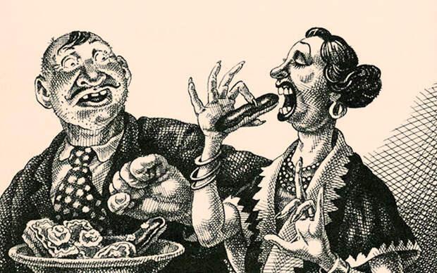 """Очень актуальный рассказ Михаила Зощенко """"Аристократка"""". Смешно, тонко, ёмко и в точку!"""