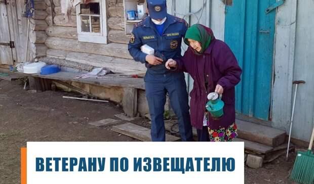 Ко Дню Победы в Удмуртии провели акцию «Ветерану по извещателю»