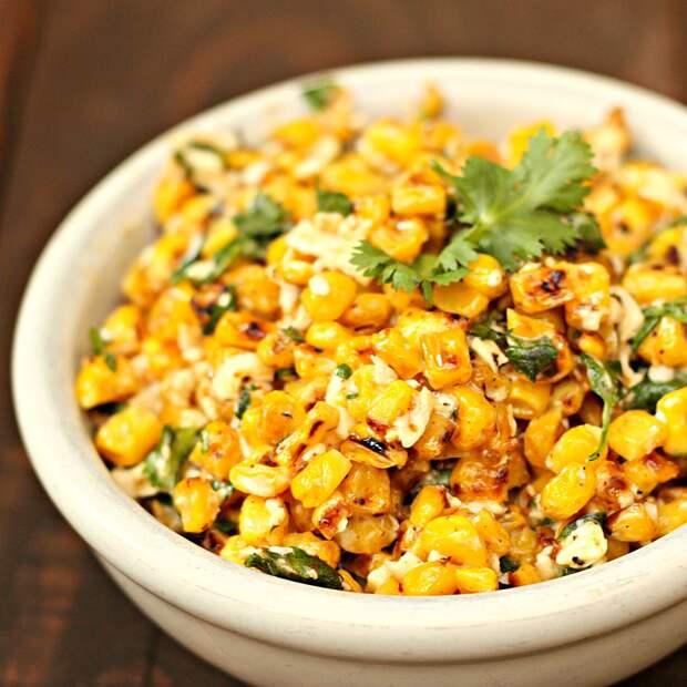 Как приготовить быстрый салат с кукурузой