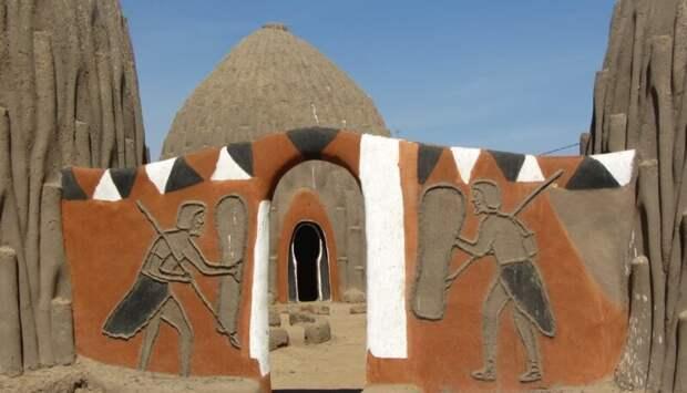 Вы не поверите, но это африканское племя создавало шедевры зодчества архитектура, африка, интересное, строительство, факты, шедевры