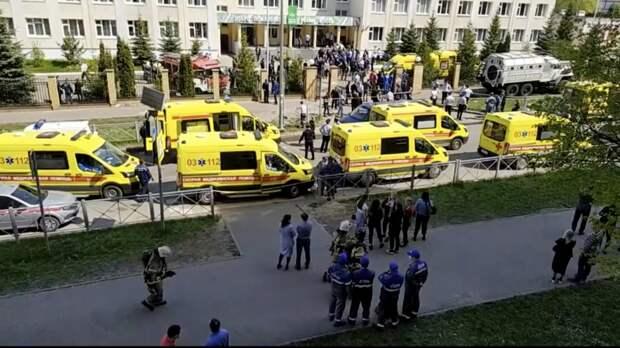 Еще одна учительница погибла в Казани после стрельбы в школе