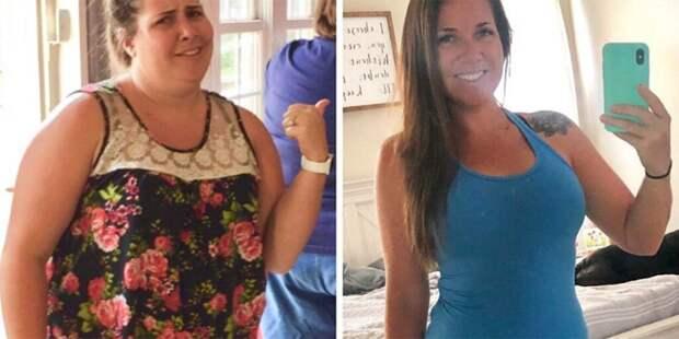 Молодая американка сбросила 45 кило и раскрыла секрет похудения: фото до и после