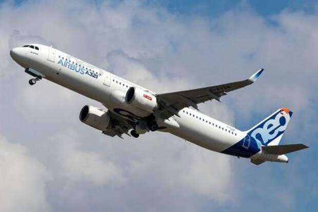 Airbus A321neo с двигателями CFM International LEAP-1A