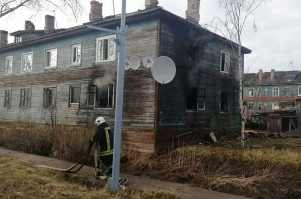 Семья с маленьким ребенком погибла на пожаре в Архангельске