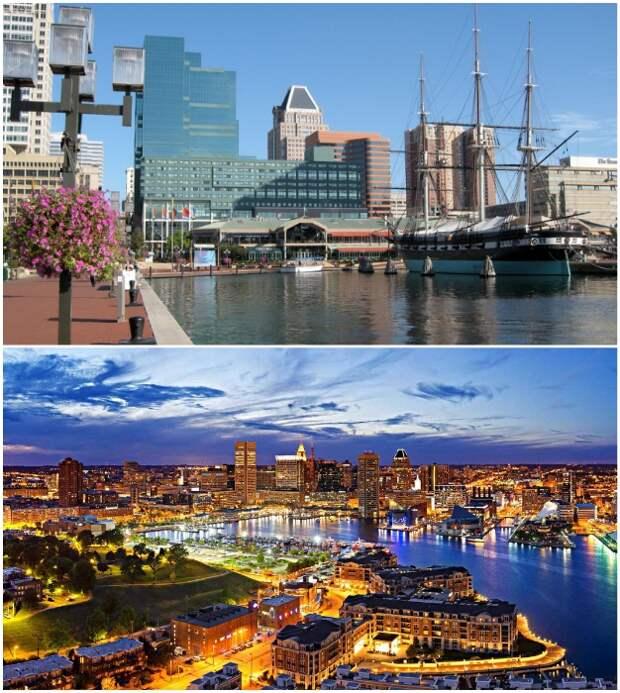 Шестой по величине город США старается обзавестись новыми членами общества в обмен на поощрительные блага (Балтимор, штат Мэриленд).