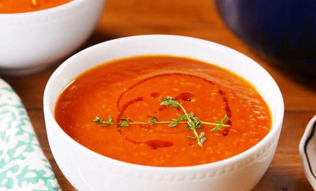 Открываем банку помидоров и делаем вкуснейший суп