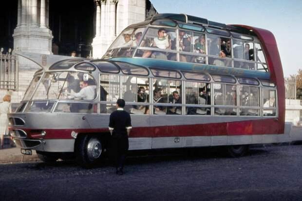 Citroen U55 Cityrama Currus автобус, автодизайн, дизайн